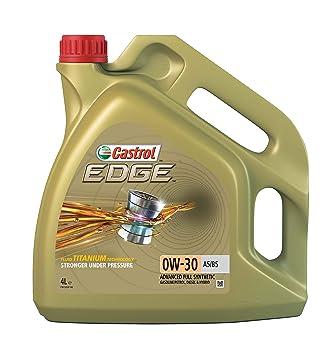 Castrol EDGE Aceite de Motores 0W-30 A5/B5 4L (Sello inglés): Amazon.es: Coche y moto