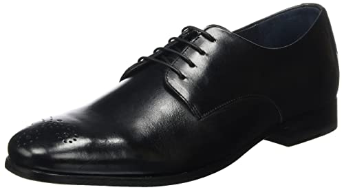 JoopPaxos Philemon Derby LFU 2 - Zapatos Derby Hombre, Color Negro, Talla 42.5 Joop