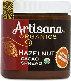 product image for Artisana Organics Hazelnut Cacao Spread, 9.5 oz | Sweetened with Coconut Sugar