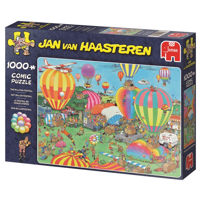 Bunte Ballone im Himmel 1.000 Teile Puzzle Spiel Deutsch 2017 Geduldspiel
