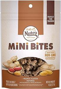 Nutro Mini Bites Peanut Flavor Dog Treats, 4.5 oz.