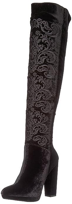 82462648221 Jessica Simpson Women s GRIZELLA Fashion Boot Black 5.5 Medium US