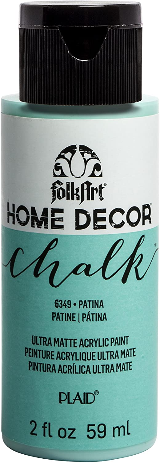 FolkArt Home Décor Chalk Furniture & Craft Paint in Assorted Colors, 2 oz, Patina