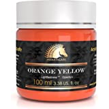 丙烯酸颜料 - 100ml - 艺术家品质 - MyArtscape 橙黄色 MAS-200-ACRYLIC-ORANGE-YELLOW-100ML