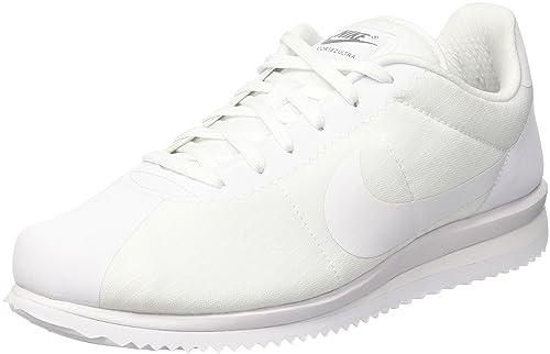 newest 24ede 36546 Nike Men's Cortez Ultra Gymnastics Shoes, White/Blue, 7.5 UK