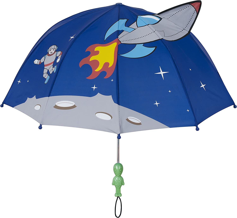 Blue Kids Safe Umbrella by KANGADOO