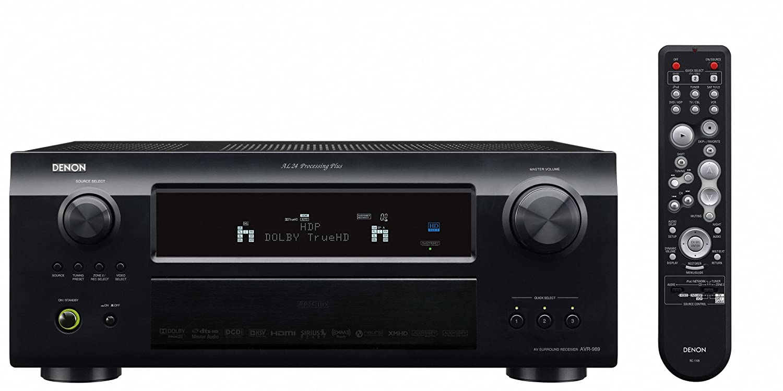 amazon com denon avr 989 805 watt 7 1 channel home theater receiver rh amazon com