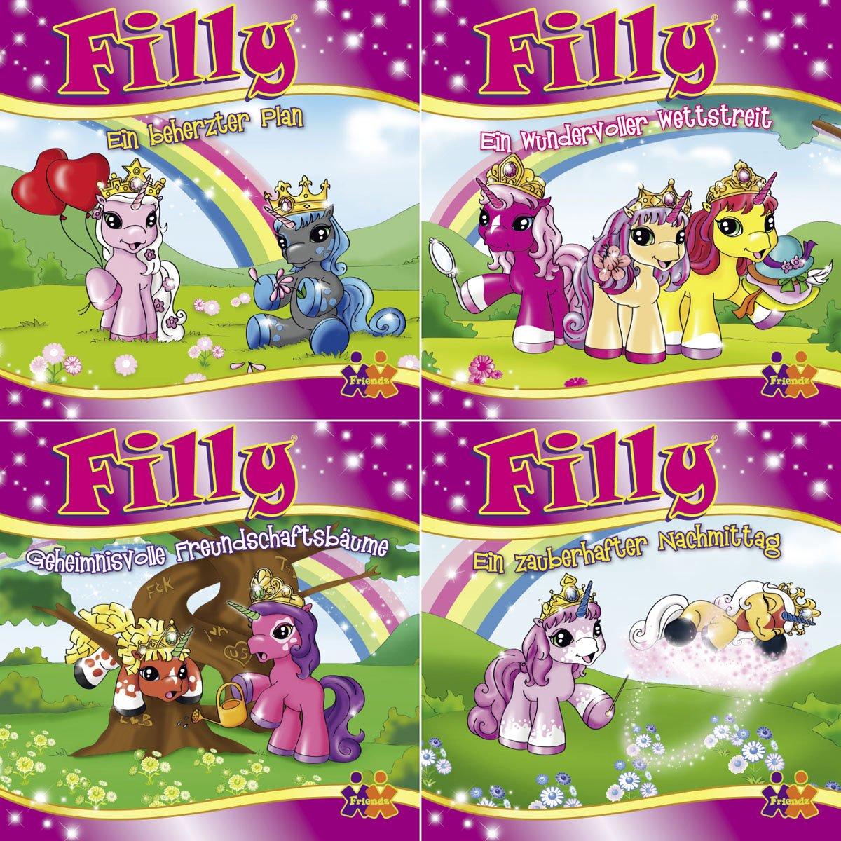 Mini-Bücher Filly 5-8 (4er-Set)