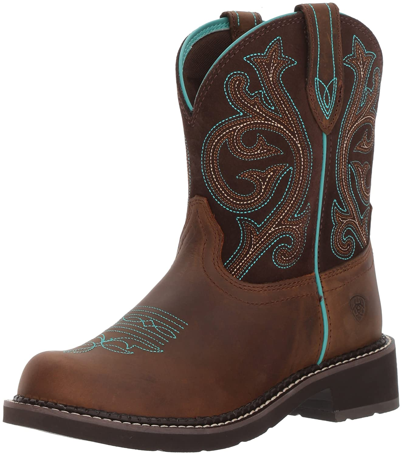 Distressed Brown  Fudge ARIAT WOMEN Women's Western Cowboy Boot