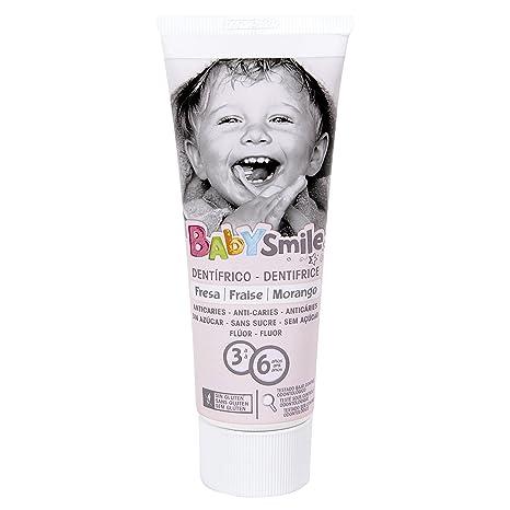BABYSMILE pasta dentífrica infantil 3 a 6 años tubo 75 ml