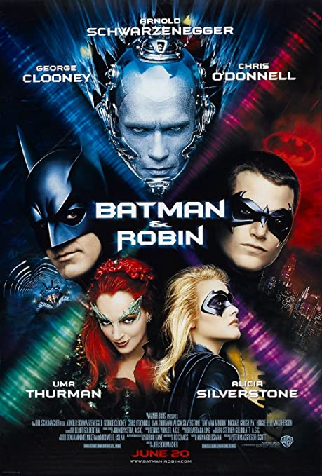 BATMAN ROBIN Original Movie Poster 27x40
