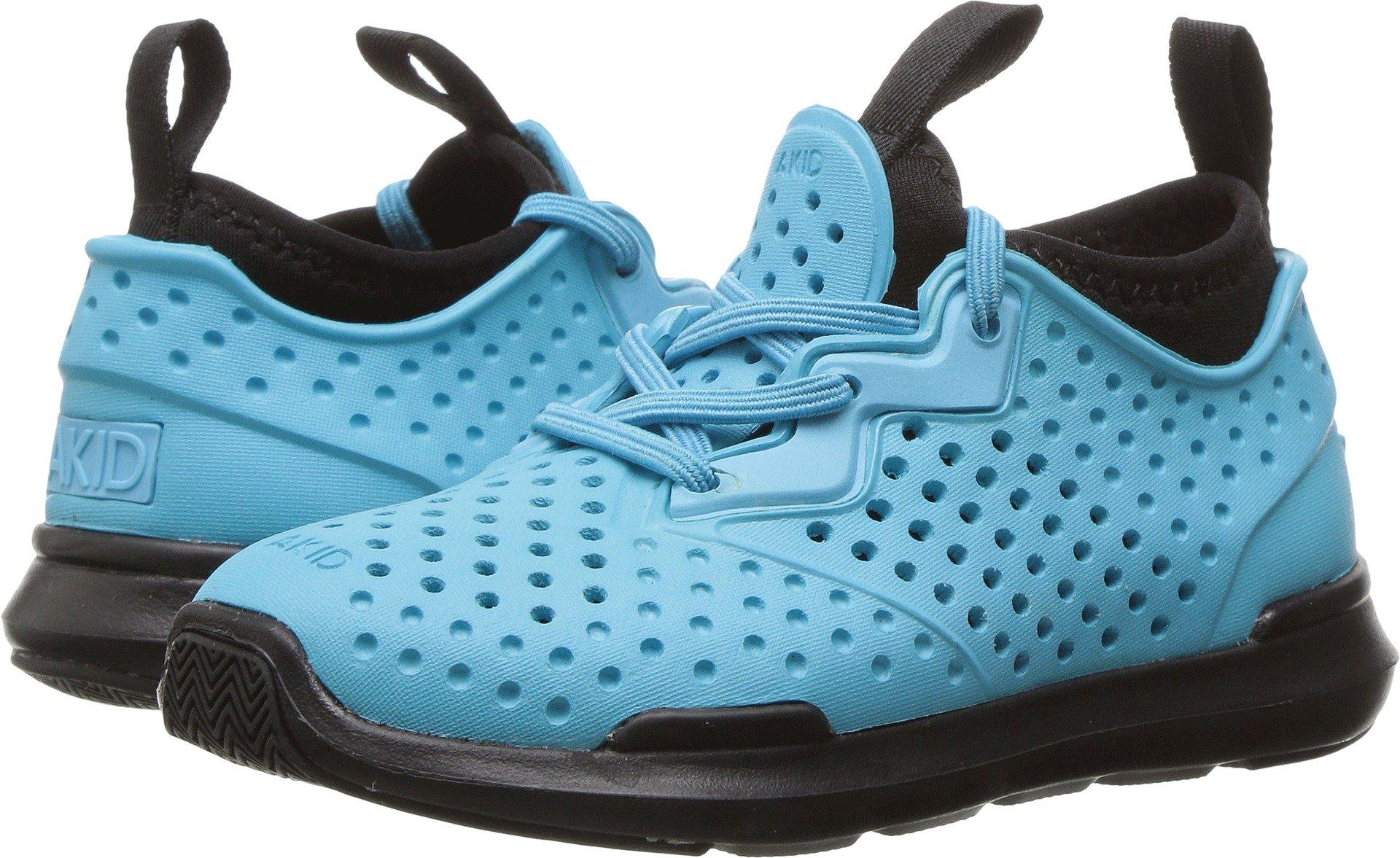 AKID Brand Unisex Chase (Toddler/Little Kid/Big Kid) Bright Blue/Black Athletic Shoe