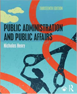 evolution of public administration as a discipline pdf