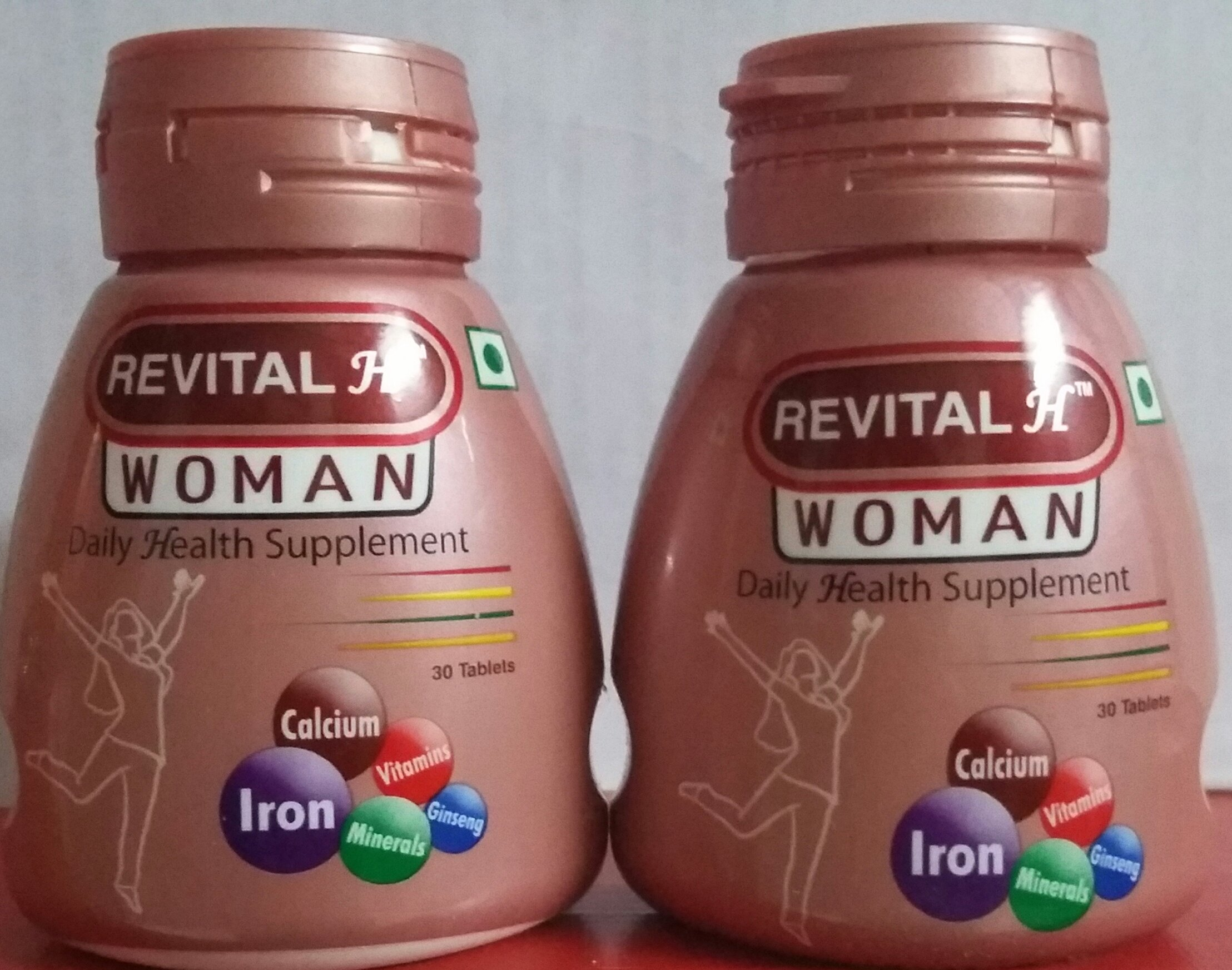 Revital H Woman Pack Of 2 Contains 30 Capsules product image