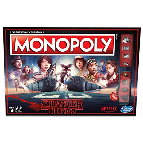 0692498f Amazon.com: Monopoly Stranger Things Edition: Toys & Games