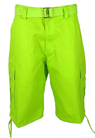 lime green shorts mens