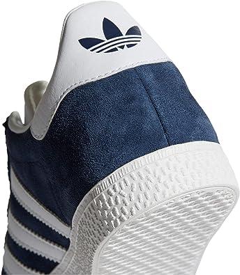 Adidas Gazelle Chaussures Baskets Femme Noir, Bleu, Rose. Sneaker. Low Top. (38 23 EU, NavyFTWR White)