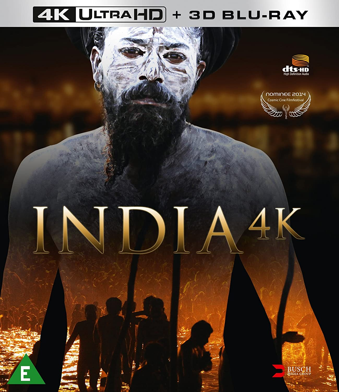India 4K - Limited Edition Ultra HD Blu-ray + 3D Blu-ray DVD Blu ...
