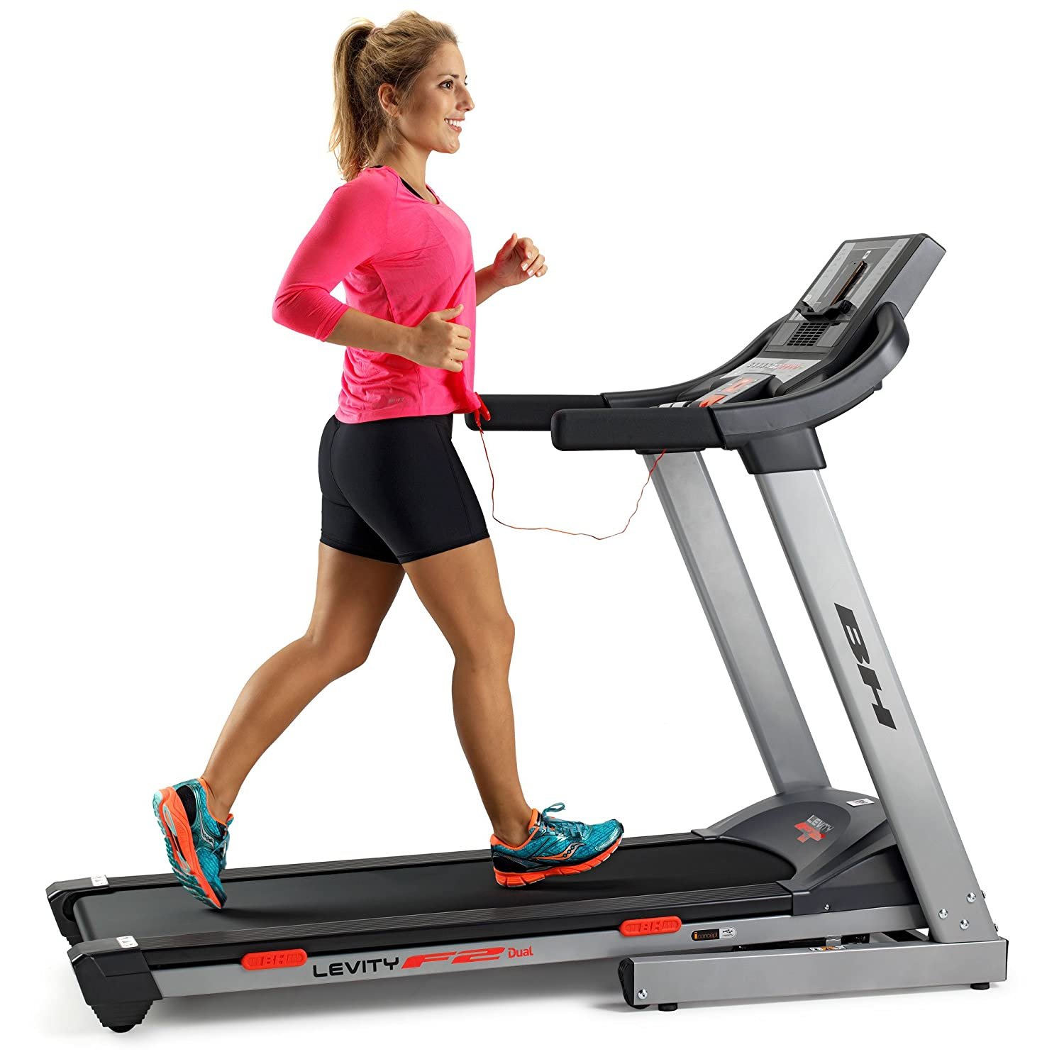 BH Fitness Levity F2 Dual 450 x 1350 mm 18 km/h Treadmill ...