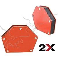Escuadras imantadas hexagonales para soldar 34 kg. 2