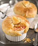 Heart-Topped Lobster Pot Pies, Four Pies