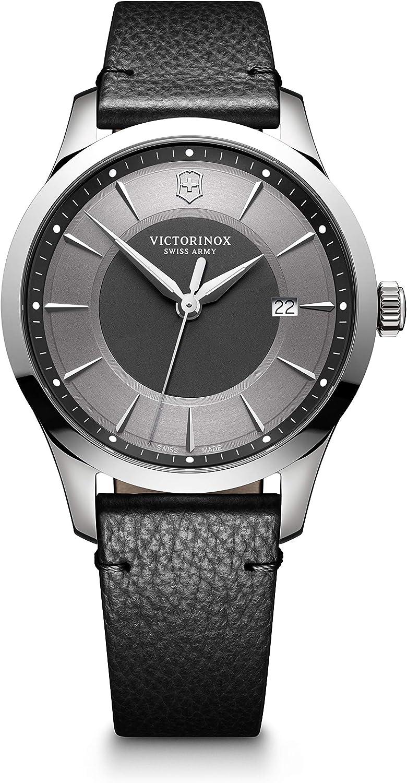 Victorinox uomo alliance large - orologioe al quarzo analogico in acciaio inossidabile fabbricato in svizzera 241804
