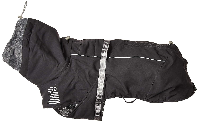 16  Hurtta Extreme Warmer, Dog Winter Jacket, Granite, 26 in