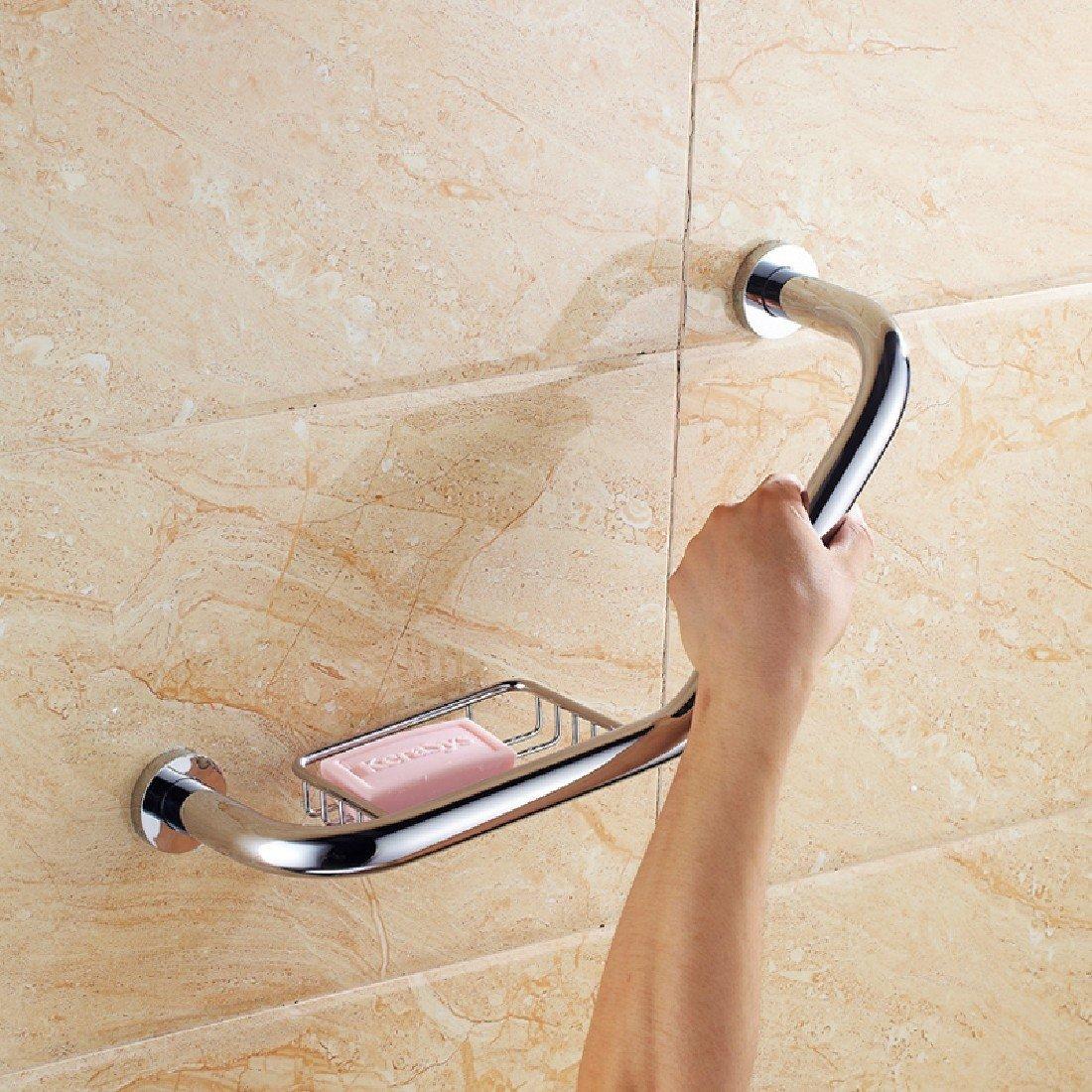 SDKKY bagno antiscivolo bracciolo Pasamanos pasamanos de Cobre baño bañera WC Ancianos discapacitados pasamanos Deslizante de Seguridad,B