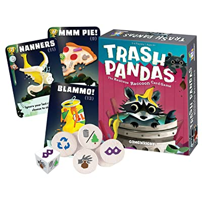 Gamewright Trash Pandas - The Raucous Raccoon Card Game - 252: Toys & Games