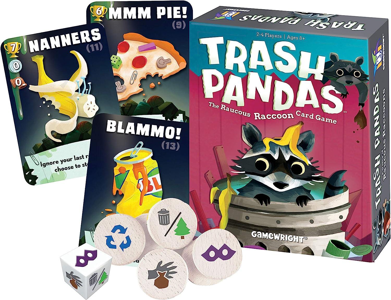 GamewrightTrash Pandas - The Raucous Raccoon Card Game - 252