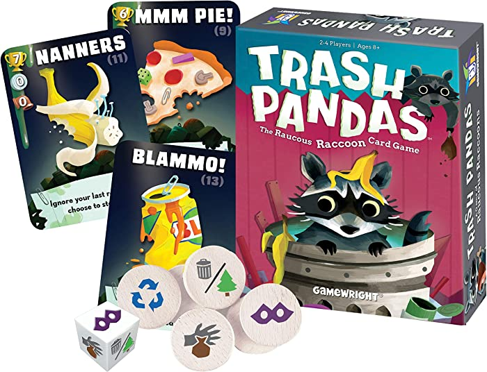 GamewrightTrash Pandas - The Raucous Raccoon Card Game - 252