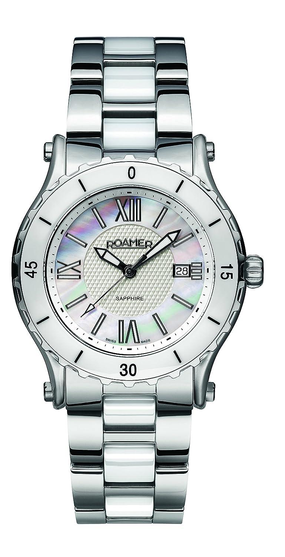 Roamer Damen-Armbanduhr C3 - Refined Analog Quarz AEU980 4123 PE