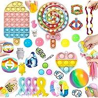 30 Pcs Sensory Relief Toy Set Cheap, Fidget Toys Set For Kids Stress And Anxiety Relief Fidget Toys, Cheap Fidget Toys…