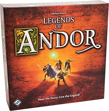 Legends of Andor: Fantasy Flight Games: Amazon.es: Juguetes y juegos
