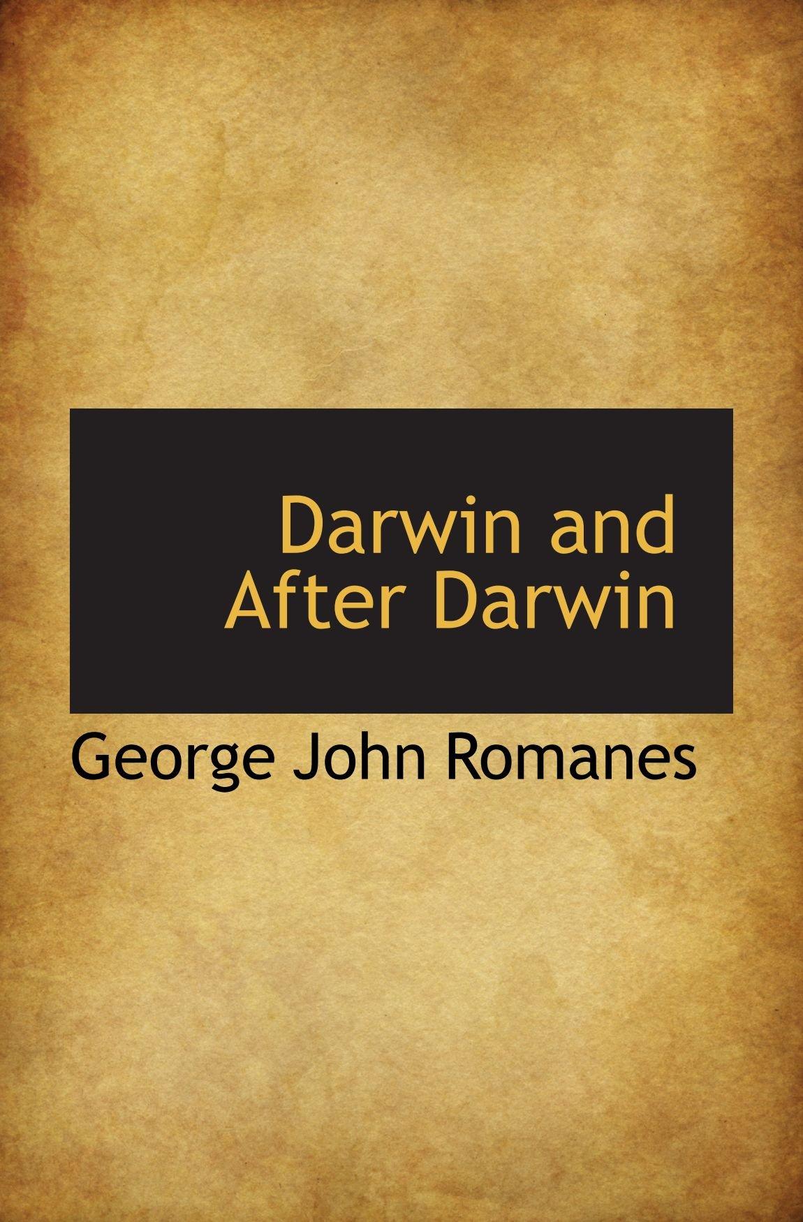 Download Darwin and After Darwin pdf epub