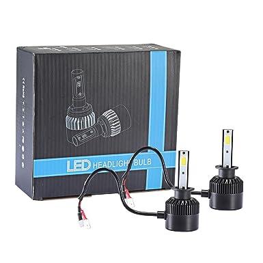 Internet 110W H1 COB CREE LED 16000LM Auto Kit de Faros de Coche de conducción Bombillas lámparas 6000K: Amazon.es: Ropa y accesorios
