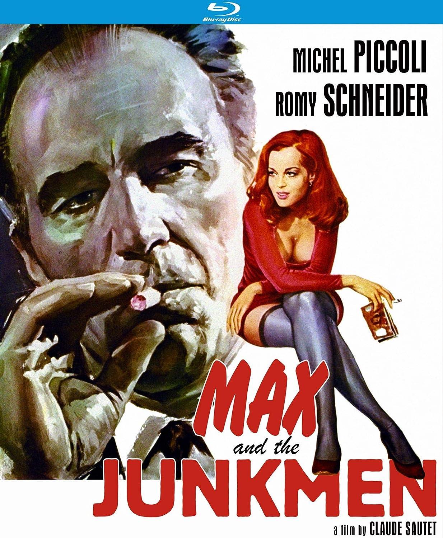 Max /& les ferrailleurs Romy Schneider movie poster