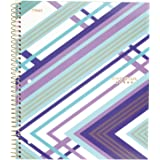"""Five Star Spiral Notebook, 1 Subject, College Ruled Paper, 100 Sheets, 11"""" x 8-1/2"""", Interrupt Purple (06348BP8)"""
