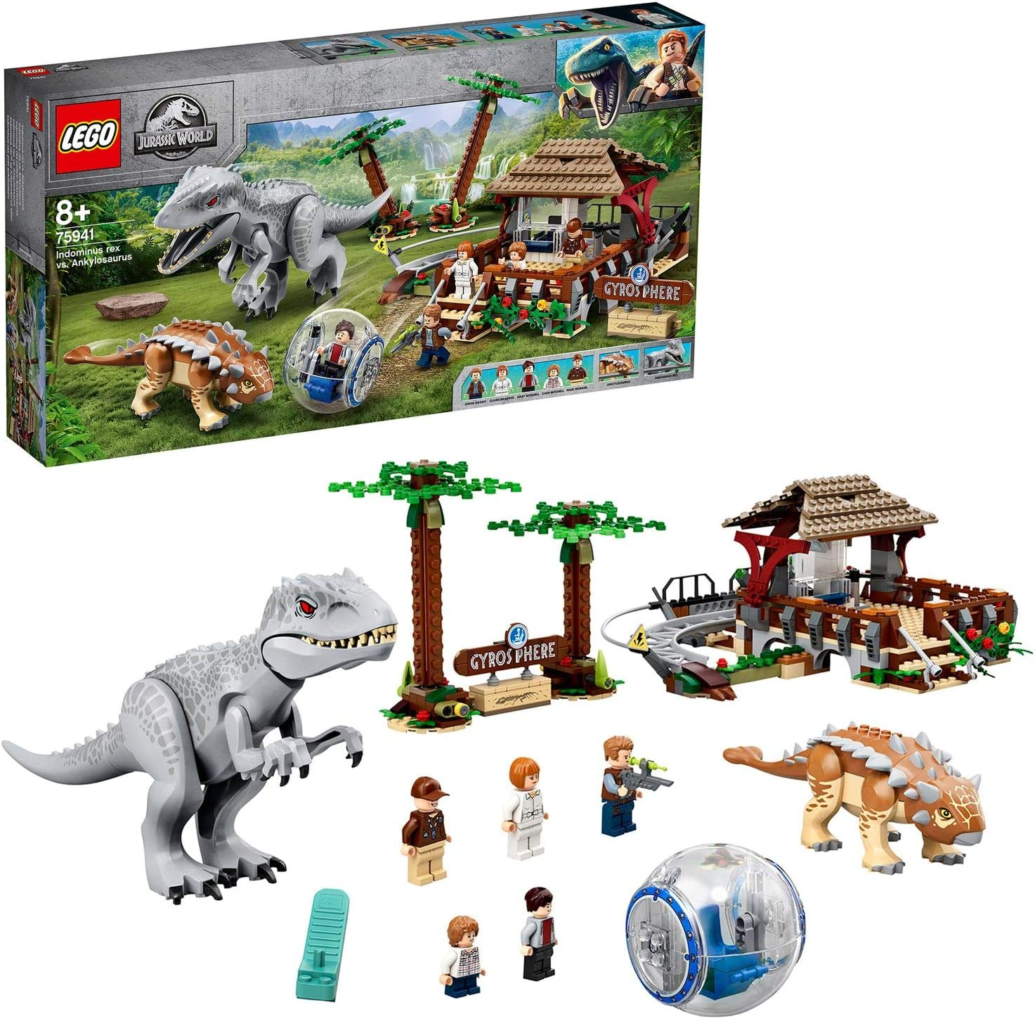 Jurassic World Indominus Rex Vs Ankylosaurus Set De Dinosaurios Con Girosfera Multicolor Lego Es 75941 Amazon Es Juguetes Y Juegos There's a dinosaur for every age with exciting lego® jurassic world™ play sets featuring cool vehicles, heroic characters, iconic buildings, laboratories, scientific equipment and more. jurassic world indominus rex vs ankylosaurus set de dinosaurios con girosfera multicolor lego es 75941