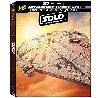 Solo A Star Wars Story 4k Limited Edition Steelbook 4k