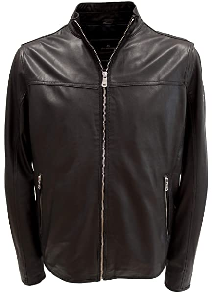 detailed look e7013 819ed MILESTONE GIACCA BOMBER PELLE UOMO TAGLIE FORTI (IT 62 ...