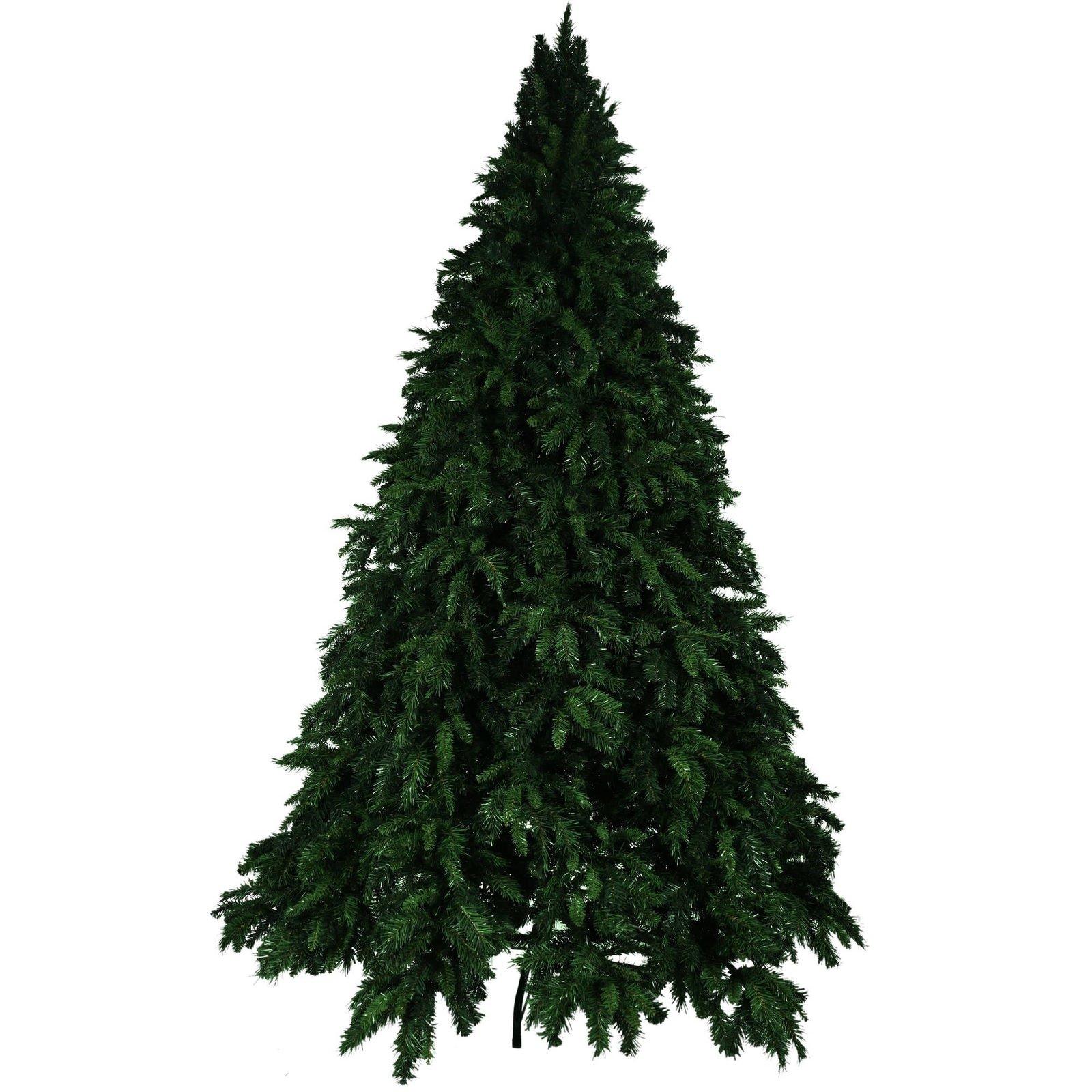 7.5' Smoky Mountain Hook Unlit Christmas Tree