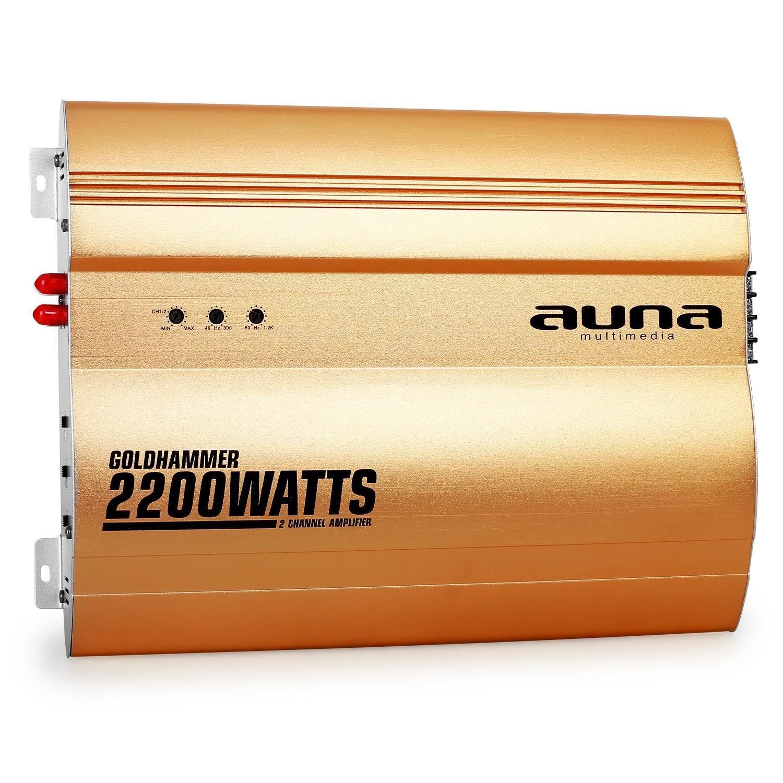 Elektronic-Star Auna 4.0 Car HiFi Set Golden Race V6