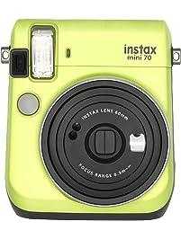 Fujifilm Instax Mini 70 - Instant Film Camera (Kiwi Green) (Renewed)