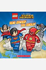 Race Around The World! (LEGO DC Super Heroes: 8x8) Kindle Edition