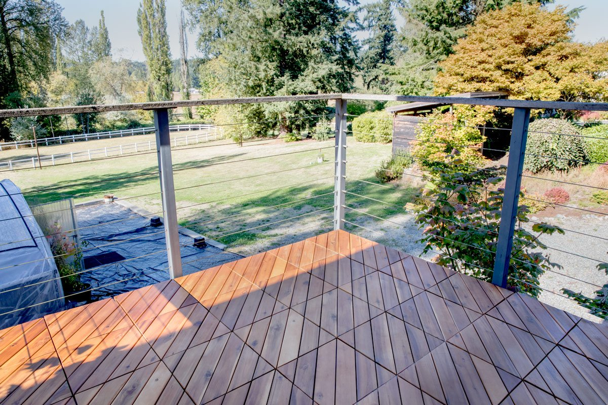 What Are Deck Tiles?
