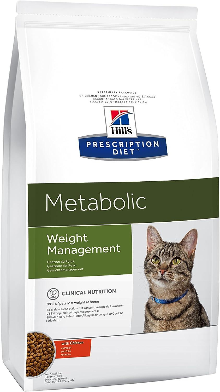 Hill`s Alimento Dietético para Gato Metabolic - 1.5 kg - 2 Paquetes de 1500 gr - Totale: 3000 gr