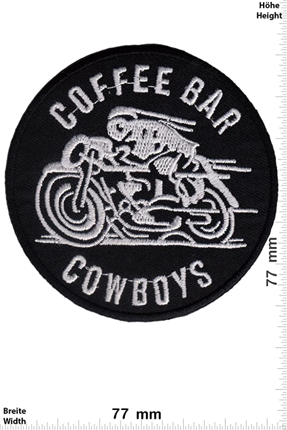Parches - Cafe Racers - Coffee Bar Cowboys