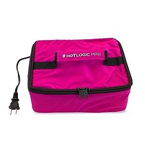 HotLogic Mini Personal Portable Oven, Pink