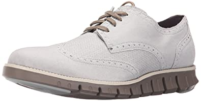 Cole Haan Men's Zerogrand DC WNG S.O Oxford, Silver Mist Canvas, ...
